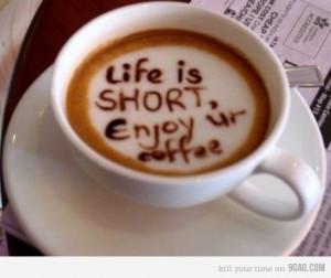 Ein guter Kaffee am Morgen…Genieße es…