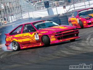 Formula Drift Racing Series Drifting Right