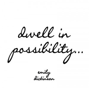 emily dickinson, inspire, message, quote, quotes, thoughts, type ...