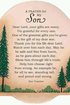 ... Marine, serving our country with a son of his own. I am so proud of