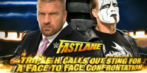 Triple H Challenges Sting to Confrontation at Fastlane