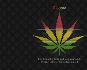 Leaf Quotes Wallpaper 1280x1024 Leaf, Quotes, Marijuana, Rasta, Reggae ...