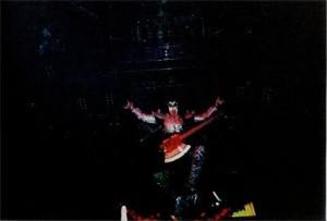 Gene Simmons flying Image