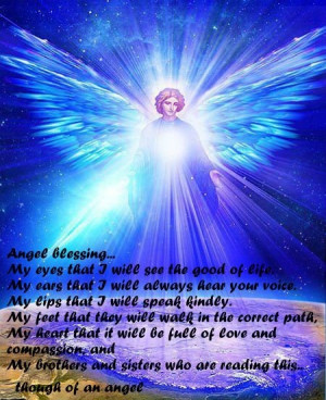 Angel blessing