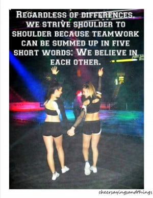 Cheerleading Teamwork Quotes http://cheersayingsandthings.tumblr.com ...