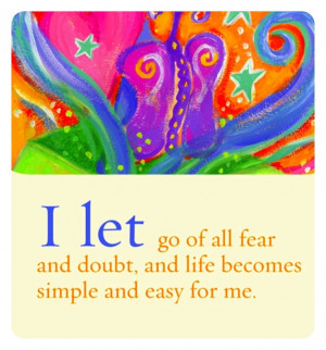 Chakracarla - I let go of all fears...