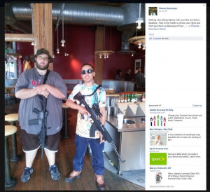 ... Group Asks Chipotle To Ban Guns After Open Carry Event (UPDATED
