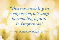 compassion a beauty in a empathy a grace in forgiveness Beauty Quote