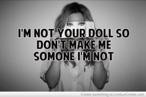 be me, cute, dont change me, quote, quotes