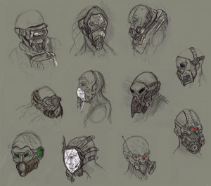 Gas Mask Ideas Adriannagorski
