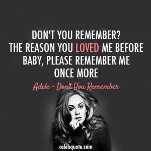Most popular tags for this image include: Adele, love, beautiful, once ...