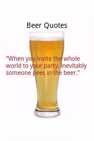 Beer Quotes 2010 - screenshot