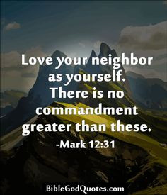 love your neighbor as yourself love your neighbor as yourself there is ...