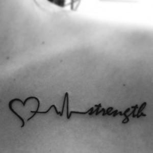 ... Tattoos Ideas, Strength Tattoo, Life Strength, Depression Tattoo Ideas