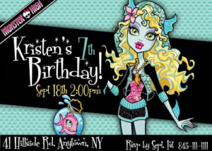 Monster High Party Invitations & Printables