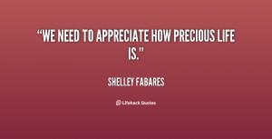 Precious Life Quotes