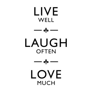 Home > Live Laugh Love Quote Wall Sticker Decal