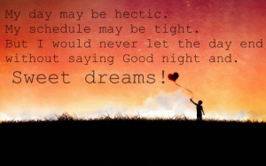 Good Night Sayings To Your Love