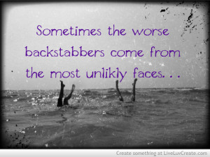Worst Backstabbers