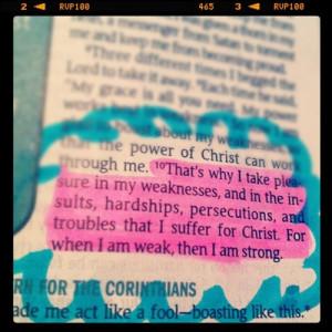bible quotes tumblr strength