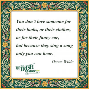 irish love quotes from renowned irish writers and poets such as oscar ...