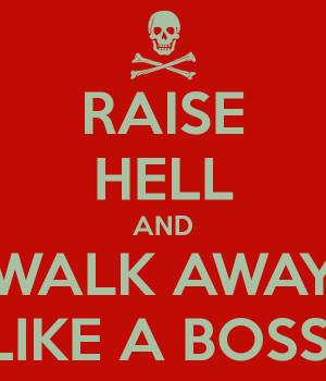 Walking Away Like A Boss Meme