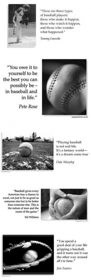 ... think baseball players are hot...the inspirational quotes are bonus