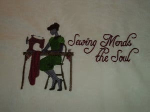 ... - Sewing Themes - Cute Sayings - Unfinished Edges - Custom Order