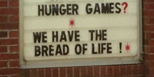 Do Christians need the Hunger Games?