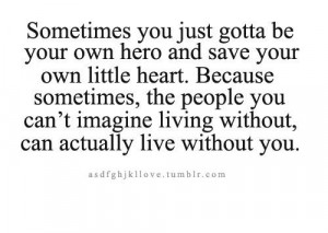 Save your own heart