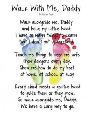 ... Quotes, Gift Ideas, Father'S Day, Fathers Day, Kids, Footprints Poem