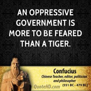 Confucius Government Quotes