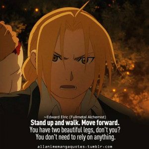 Edward Elric - Thoughtfull quotes Picture