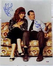AL BUNDY KATEY SAGAL PEG MARRIED WITH CHILDREN SIGNED 11X14 AUTO PSA