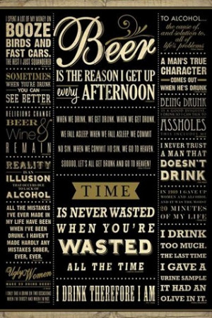 Beer Quotes iPhone Wallpaper Download