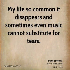 paul-simon-paul-simon-my-life-so-common-it-disappears-and-sometimes ...