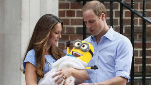 ... to Will and Kate on the birth on their baby boy and future king