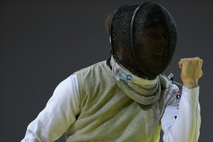 2015 asian fencing championships in this photo lucas webber lucas