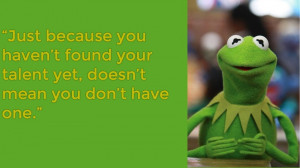 Kermit The Frog Quotes About Being Green