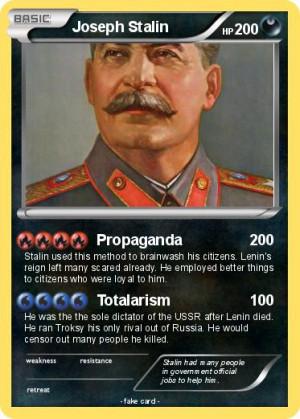 Joseph Stalin Propaganda In English Pokemon joseph stalin