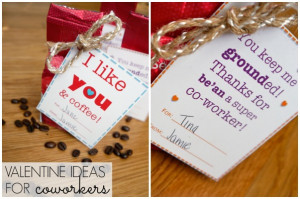 ... the Love #11: I like you and coffee! {valentine ideas for coworkers