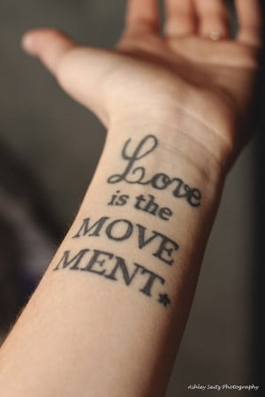 meaningful tattoo quotes about love