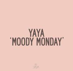moody mondays yaya moody