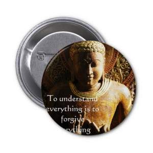 Buddha Quote about FORGIVENESS and FORGIVING Buttons