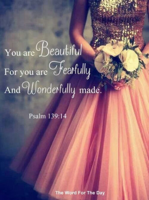 tags bible bible verses bible verses on beauty faith girls psalm 139 ...
