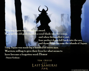 THE LAST SAMURAI [2003]
