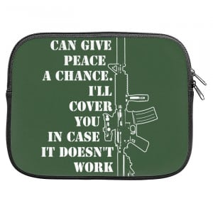 Funny Gun Rights Quotes Zipper Pouch