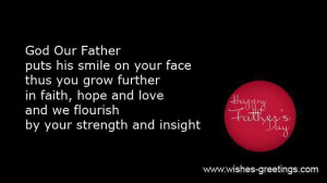 there are christian fathers day quotes from son daughter or wife ...