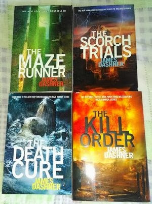 What is the order of maze runner books