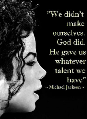 Michael Jackson A Personal Quote From Michael